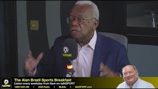 Sir Trevor McDonald on his love of Spurs