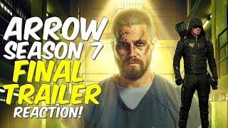 Final Arrow Season 7 Trailer REACTION + Highlights!