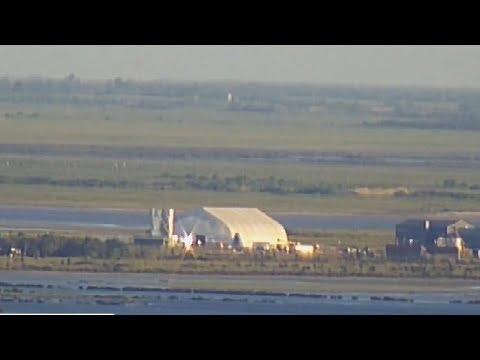 SpaceX Launch Pad, Boca Chica Beach, Texas