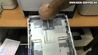 Как правильно вставить  бумагу в принтер или МФУ.
