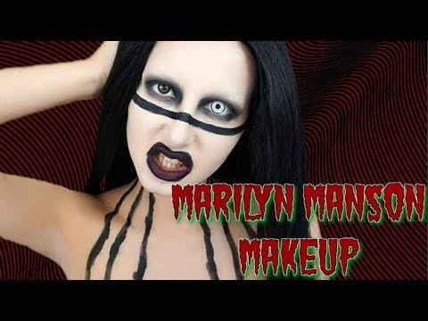 Marilyn Manson Makeup Tranformation 💉💀 | Halloween 2017