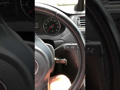 Getting VW key out of ignition Jetta with WD40
