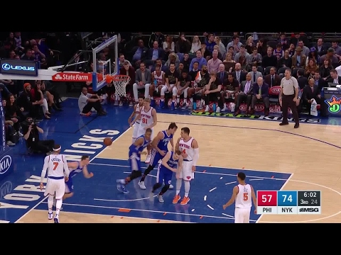 Quarter 3 One Box Video :Knicks Vs. 76ers, 2/25/2017 12:00:00 AM