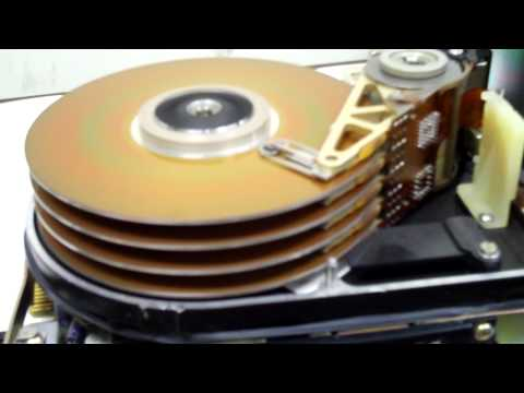 Old Hard Drive spinning up! (72 MB)