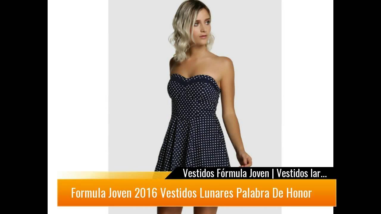 Vestidos primavera verano 2019 formula joven