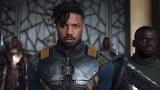 Black Panther 2018 I The Fist Batle T'Challa And W'Kabi Best Scenes