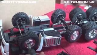 rc mercedes benz actros slt 1 14 the build part 8 upgrade carson steer rod rc trucks lkw