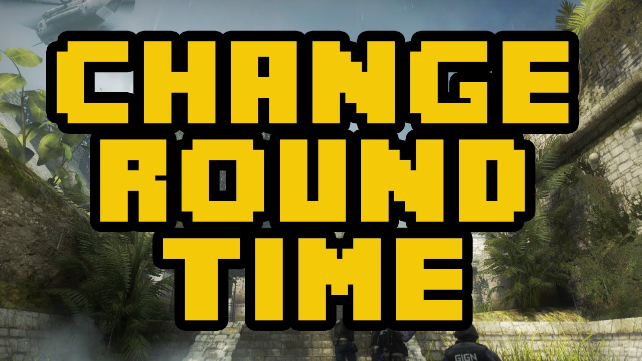 How To Change The Round Time In CSGO 2017 (EASY) - CSGO Add More Time  Command Console