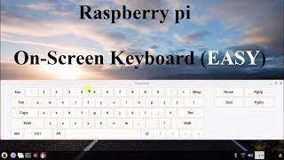 5 Raspberry pi On-Screen keyboard Quick Setup