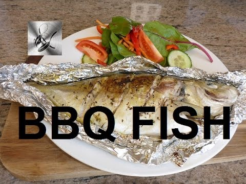 How To Cook Whole Fish On The BBQ | The Hook And The Cook