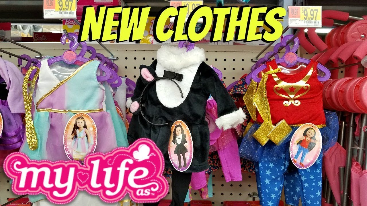 [VIDEO] - New My Life As Outfits Toy Hunt Walmart  - Shop With Me 2017 9