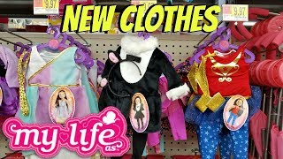 New My Life As Outfits Toy Hunt Walmart  - Shop With Me 2017