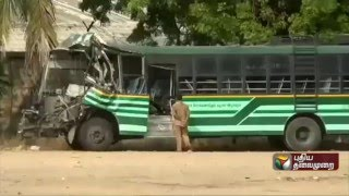 Govt bus driver, conductor dead in accident near Ulundurpet
