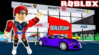 ROBLOX | Build Massive Super Car Shop And I Mean Super Race | Vehicle Tycoon | Vamy Tran