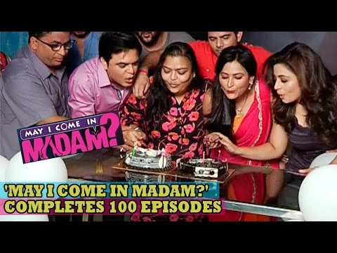 May I Come In Madam 100 Episodes Celebration: Sandeep Anand, Neha Pendse, Sapna Sikarwar, Shoma thumbnail