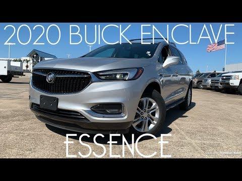 2020 Buick Enclave Essence V6: Start-up & Review