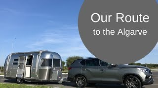 Driving to the Algarve with a caravan; the sites and sights [CC]