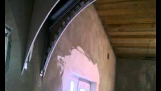 Как сделать арку.(Видео урок - как можно сделать арку из гипсокартона своими руками за 2 часа.Как согнуть гипсокартон и сделат..., 2015-04-22T23:14:31.000Z)
