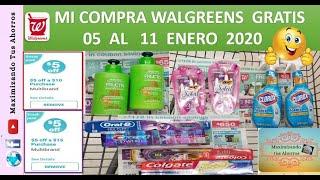 Mi Compra Walgreens Todo Gratis😉05 al 11 Enero 2020