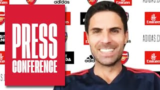 Mikel Arteta on Saka, Partey, Holding, Bellerin and Benfica | Press Conference