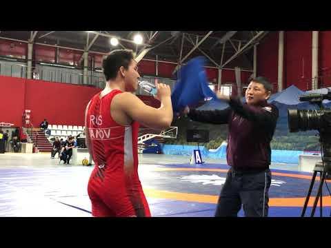 Турнир памяти Ю. Власко 2019. 92 кг. Юрий Иванов (Иркутская обл) - Б.Бильгуун (Монголия)