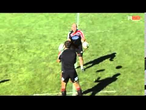 R80 Rugby Coaching Drill Fast Hands   YouTube