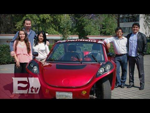 Egresados del IPN diseñan auto ecológico 'ALBA' / Ingrid Barrera