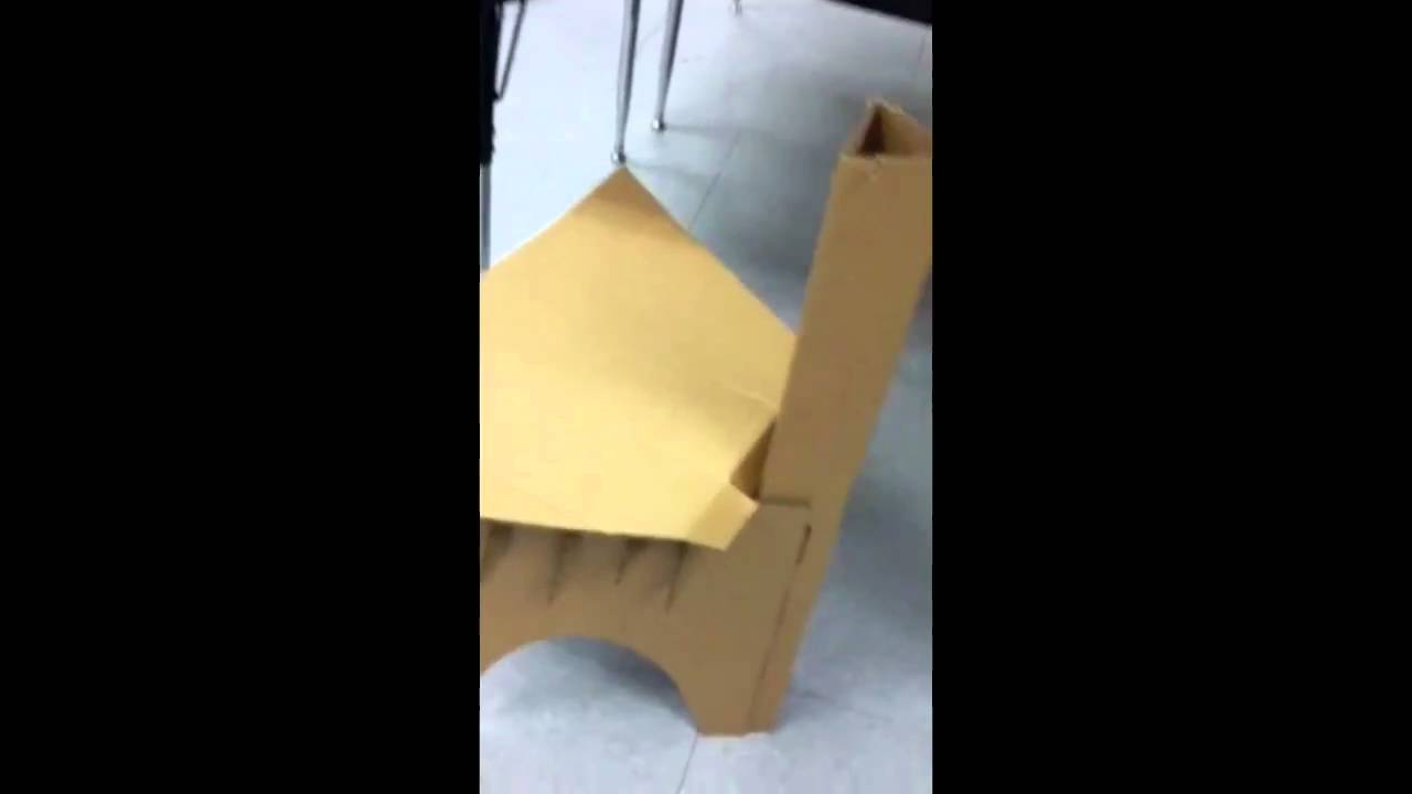 ALA 100 Lightest Cardboard Chair