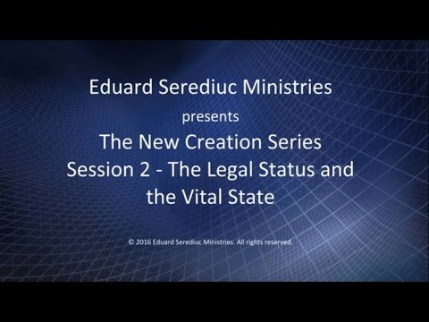 Session 2 - The Legal Status and the Vital State