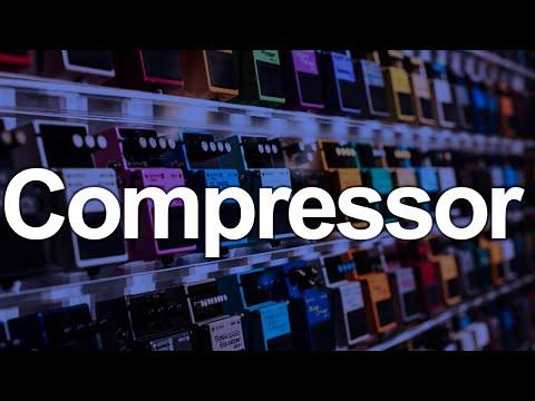 Guitarra com compressor, como é o som?