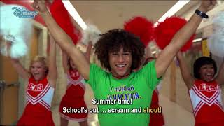 High School Musical 2 | What time is it?  Music Video  Disney Channel Italia