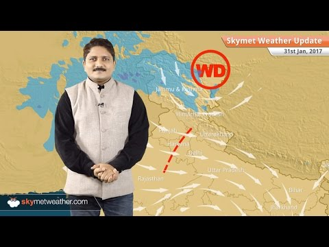 Weather Forecast for Jan 31: Fog in Northwest Plains, dry weather in Central India