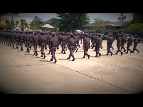 สอบตามแบฝึก นสต.รุ่น 5 ศฝร.ภ.7 & นครบาล กองร้อยที่ 4 Part 10 (HD)