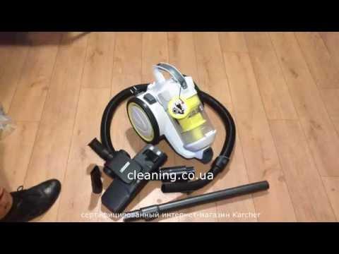 Пылесос Керхер VC 3 Premium циклон.  Видео обзор cleaning.co.ua