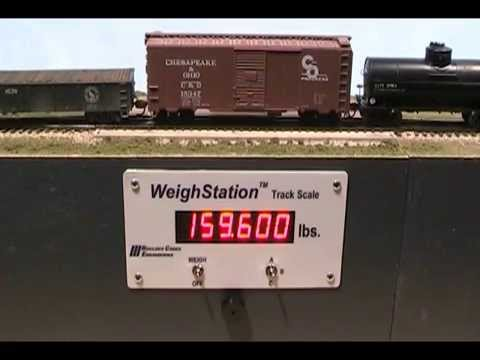 Boulder Creek Engineering:  WeighStation Track Scale 2.2 - NEW!
