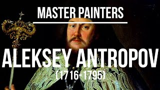 Aleksey Antropov (1716-1795) - A collection of paintings & drawings 2K Ultra HD Silent Slideshow