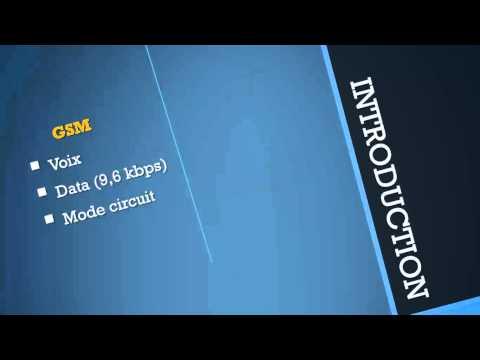 RESEAUX MOBILES (GSM,GRPS,EDGE,UMTS) - 2 - Vue générale