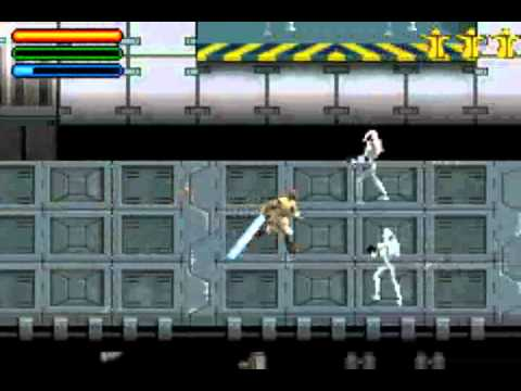 Star Wars Jedi Power Battles Game Boy Advance With Commentary Youtube