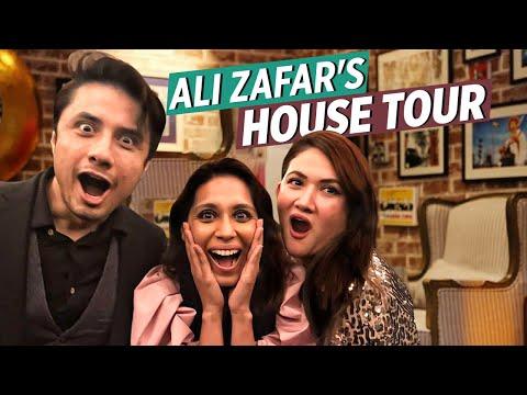 Ali Zafar's Beautiful House Tour 2020   Momina's Mixed Plate