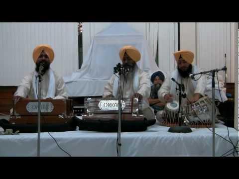 Bhai Gurcharan Singh Hazoori Ragi - 8-20-12 - Live SRS Chicago (HD)