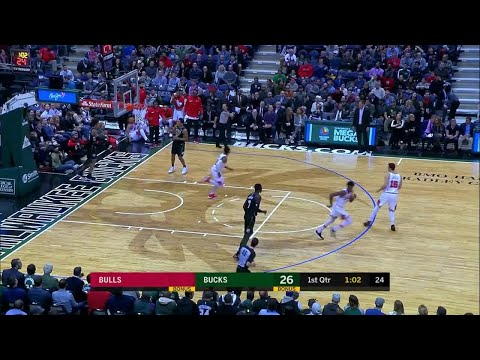1st Quarter, One Box Video: Milwaukee Bucks vs. Chicago Bulls