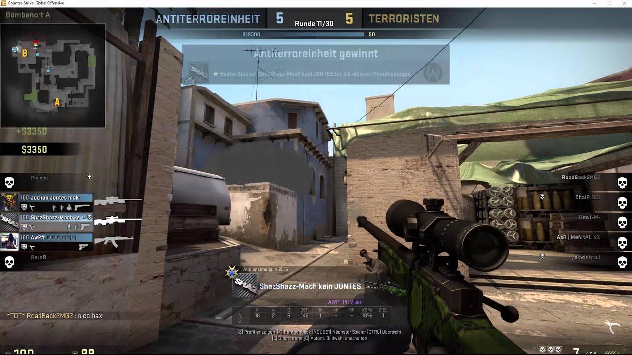 how to get a smoke through console csgo