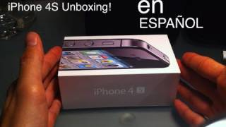 IPhone 4s Unboxing ESPAÑOL 