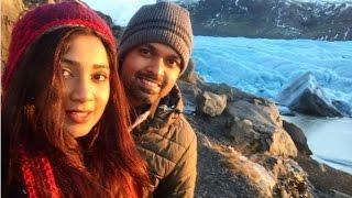 Singer Shreya Ghoshal And Her Husband On Holiday