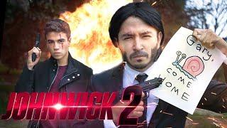 JOHN WICK BUSCA A GARY! - JUAN WICK 2 - Changovisión