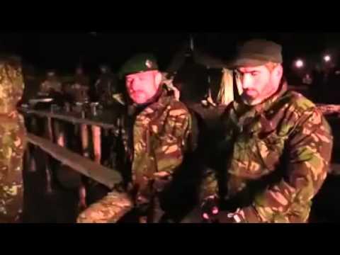 Батальон чеченцев прибыл на помощь украинской армии!!!!