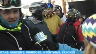 Beaver Creek Opening Day Cesar Hermosillo First Chair 11 25 15