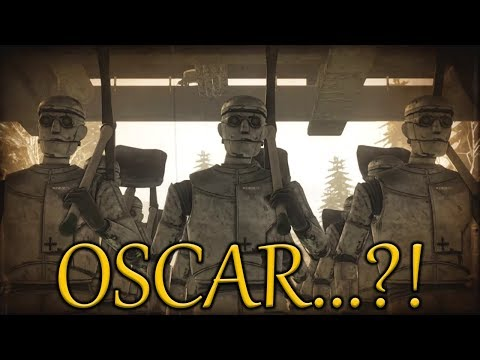 They all look like him!   Syberia 3 episode 11  