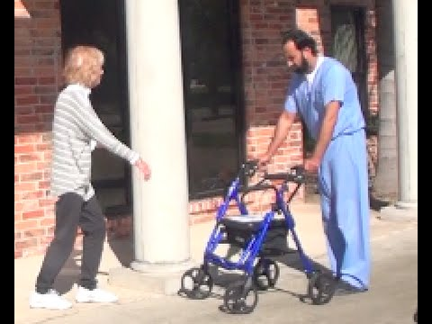 Woman with MS Walks after 30 years. See how the miracle happened.