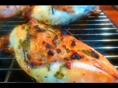 Roast Chicken with Lemon, Rosemary and Garlic